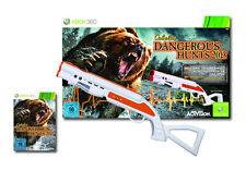 Cabelas Dangerous Hunts 2013 + Top Shot Fearmaster Gun Pistole für XBOX 360