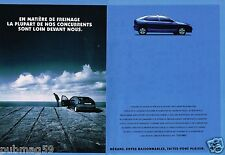 Publicité advertising 1995 (2 pages) Renault Mégane