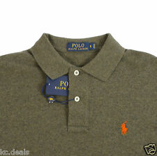 POLO RALPH LAUREN MEN THE MESH SHIRTS PONY LOGO BLUE BROWN RED BEIGE GREEN BLACK