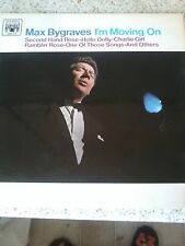 "MAX BYGRAVES-I'M MOVING ON 12"" VINYL LP CHARITY LISTING FOR ABBIE'S FUND"