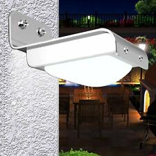 16 LED Solar Powered Motion Sensor Garden Security Light Lamp Outdoor Waterproof