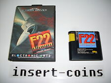 F22 interceptor-Sega Mega Drive/MD/pal #r26