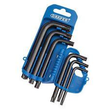 Draper 6 Pieza Torx TX-STAR Allen/ALEN/Alan/Allan llave Conjunto de herramientas - 33737