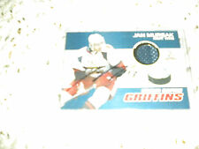 2009-2010 AHL GRAND RAPIDS GRIFFINS SIGNED JAN MURSAK JERSEY TRADING CARD