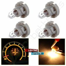 4x Warm White T4/T4.2 Neo Wedge A/C Climate Heater Control Light Bulbs Lamp 10mm