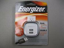 Energizer Dual Universal USB Charger NEW