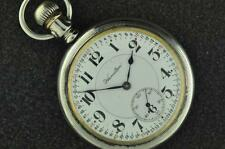 VINTAGE 16S HAMILTON 996 19J MONTGOMERY DIAL DISPLAY BACK POCKET WATCH