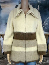 #3286 HILDA LTD ICELAND 100% WOOL LINED JACKET WOMENS XS
