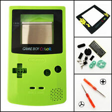 GBC Nintendo Game Boy Color Replacement Housing Shell Screen Kiwi Green Pokemon