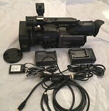 Panasonic AG-DVX100B 3CCD Mini-DV Video Camcorder 77 Hours Like New WOW!