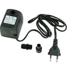 EU Plug 220V 15W 800L/H Submersible Fountain Air Fish Tank Aquarium Water Pump