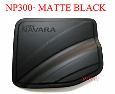 MATTE BLACK OIL FUEL CAP COVER FOR NISSAN NAVARA FRONTIER NP300 15+ 4 DOORS 4WD