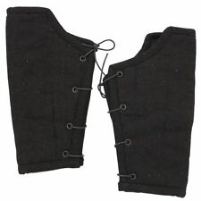 Medieval Renaissance Middle Ages Armor Padded Cloth Arm Bracers - Cotton/ Wool