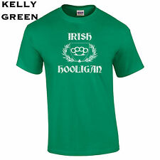 104 Irish Hooligan Mens T-Shirt funny st. patrick's costume party clover lucky
