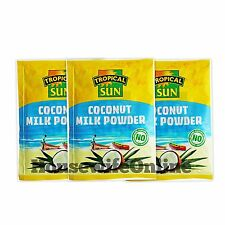 3 X Tropical Sun Coconut Milk Powder 50g (Pack of 3)