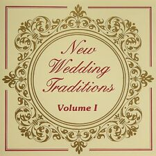 NEW WEDDING TRADITIONS - vol. 1. CD 14 tracks VGC. Dedicated songs for marriage