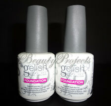 2pcs Harmony Gelish Foundation Base Coat Soak Off Base Nail Gel .5Fl full size