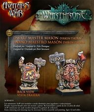 AVATARS OF WAR -  AOW91 Dwarf Master Mason