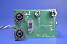 Peavey Series 3000 Speaker Crossover Network Jackplate