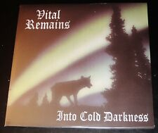 Vital Remains: Into Cold Darkness LP Vinyl Record 2014 Peaceville Germany NEW