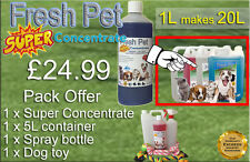 FRESH PET SUPER PACK Kennel/Cattery Disinfectant to make 20L - ALPINE