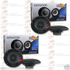 "BRAND NEW 4 x KENWOOD 6.5-INCH 6-1/2"" 2-WAY CAR AUDIO COAXIAL SPEAKERS 600 WATTS"