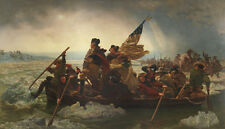 BEST ART # George Washington Crossing the Delaware CANVAS OIL PAINTING # 36""
