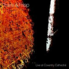 TRAVIS & FRIPP - Live at Coventry Cathedral (King Crimson, Eno, - near mint!)