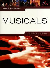 Really Easy Piano Musicals West End Show Favourites Learn Music Book