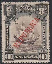 Nyassa co (1996) - 1921 3c sur 400r surtaxe inversée non montés mint
