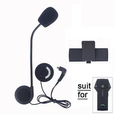 Headphone Mic/Speaker+Clip kit for Motocycle Helmet Bluetooth Intercom COLO FDC