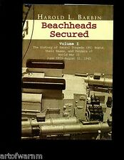 br- BEACHHEADS SECURED- Hist. of PT Boats,Bases & Tenders in WW2 2 vols  HBdj