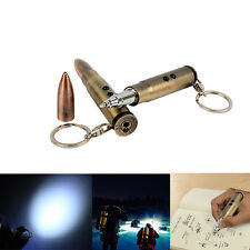 4 in 1 Mini Bullet Shape Pendant EDC Keychain Multifunctional Defense Tools New