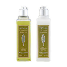L'Occitane Verbena Bodycare Soothing Shower Gel Cleanser+Body Lotion 250ml #b393