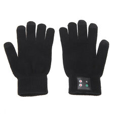 Unisex USB Bluetooth Touch Screen Talking Hands Free Gloves for Smart Phone CIT