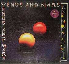"""Paul McCartney & WINGS """"Venus and Mars"""" Capitol Lp w/ Inner Sleeve"""
