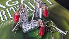 Alice In Wonderland Key Ring Drink Me Bottle Buy 1 Get 1 Empty for Free