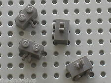 LEGO OldDkGray Bricks with Clip 30237 / Set 5986 7121 7184 4730 6098 4733 6091..