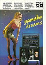 Yamaha Katalog Prospekt  CDX-410 RX-300 KX-200 NS-G10