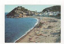 Costa Brava Tossa De Mar Playa y Cabo de Tossa Postcard Spain 557a