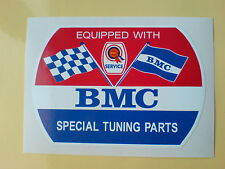 BMC Rosette  SPECIAL TUNING PARTS Classic Retro Decal Sticker 1 off 100mm
