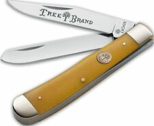 Boker Traditional Series Trapper Smooth Yellow Bone Pocket Folding Knife 110731