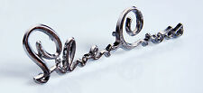 SILVER CROSS PRAM BODY BADGE EMBLEM LOGO SPARES  - BALMORAL COACH BUILT