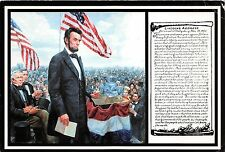BF40978 abraham lincoln painting mort kunstler Famous People World leaders