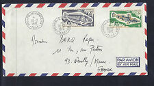 FRENCH ANTARCTICA (FSAT) 1972 FISH cover ARCHIPEL des KERGUELEN to FRANCE