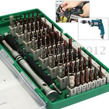 60 in 1 Precision Screwdriver Bit Repair Tools Kit For Cell Phone Tablet Laptop