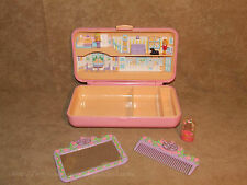 Polly Pocket Hair Play Set With Polly Pocket Dolls Vintage 1990