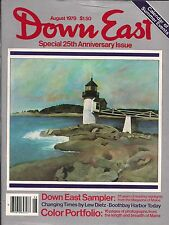 Down East Maine Magazine 1979 August Boothbay Harbor/Carolyn Wyeth