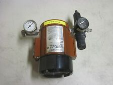 WARRANTY Moore Industries IPX2/4-20MA/3-15PSIG/20PSI/FR1-GA1 Air Transmitter
