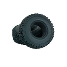 """PC 4PCS 1.9"""" Wheel Tyres Tires w/ Sponges CRTY005 for RC Axial SCX10/AX10 Wraith"""